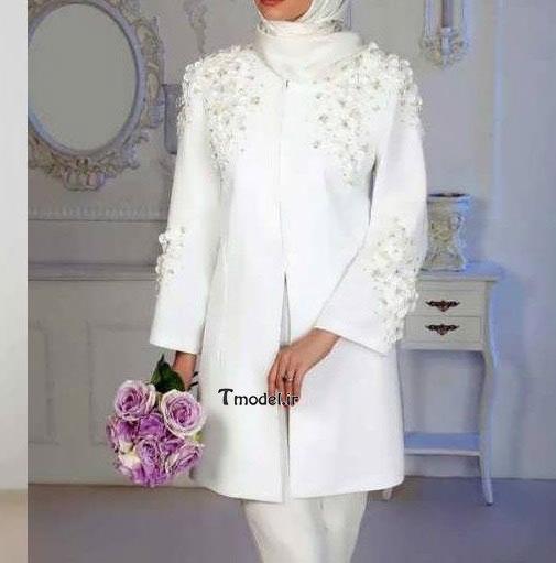 مدل مانتوی عروس