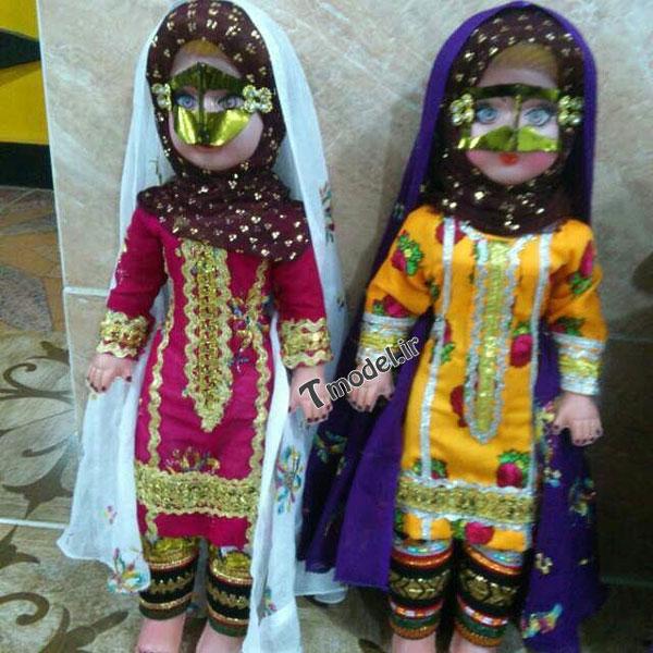 1245111212 10 - انواع مدل لباس زنانه سنتی جنوبی بندری - مدل لباس بندری- لباس هرمزگانی