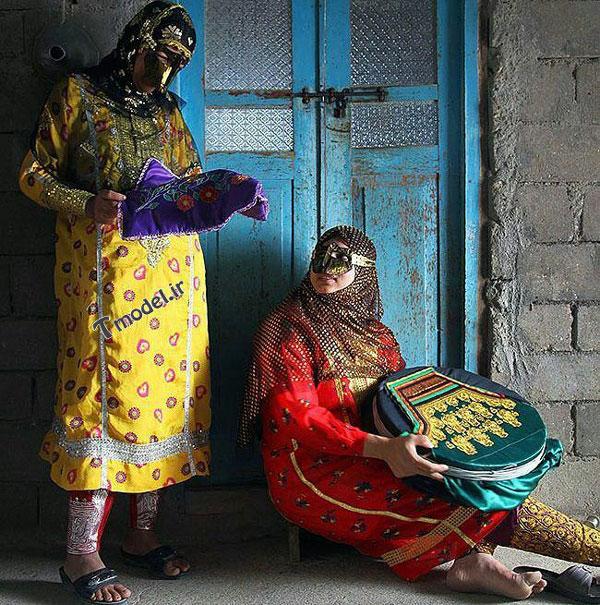 1245111212 5 - انواع مدل لباس زنانه سنتی جنوبی بندری - مدل لباس بندری- لباس هرمزگانی