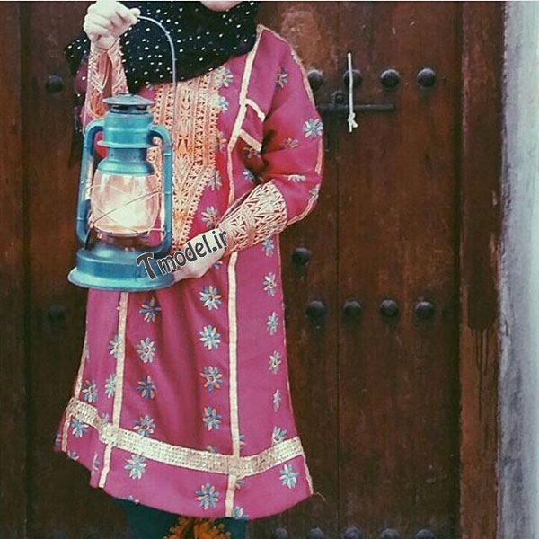 1245111212 9 - انواع مدل لباس زنانه سنتی جنوبی بندری - مدل لباس بندری- لباس هرمزگانی