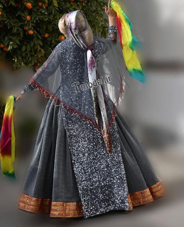 33112224545 10 - مدل لباس سنتی ایل قشقایی - مدل لباس محلی قشقایی