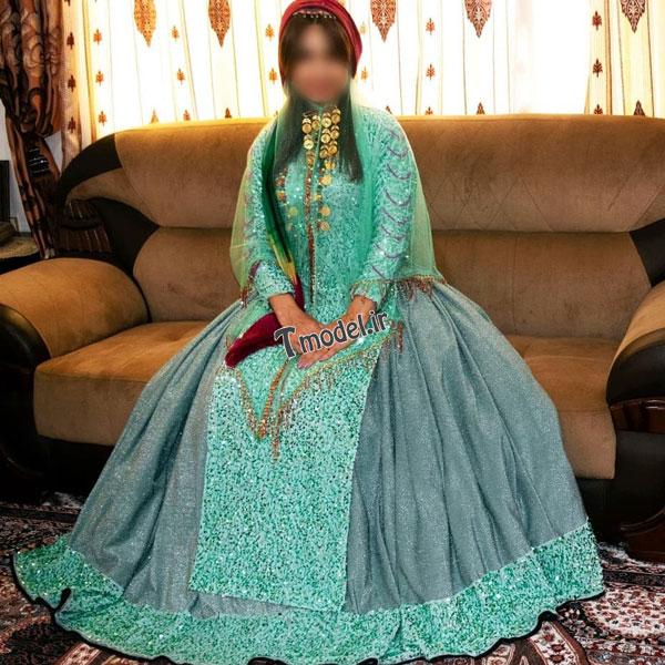 33112224545 4 - مدل لباس سنتی ایل قشقایی - مدل لباس محلی قشقایی