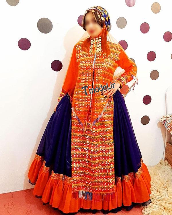 33112224545 5 - مدل لباس سنتی ایل قشقایی - مدل لباس محلی قشقایی
