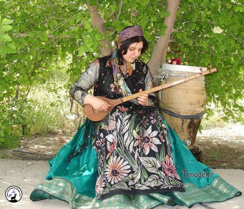33112224545 7 - مدل لباس سنتی ایل قشقایی - مدل لباس محلی قشقایی