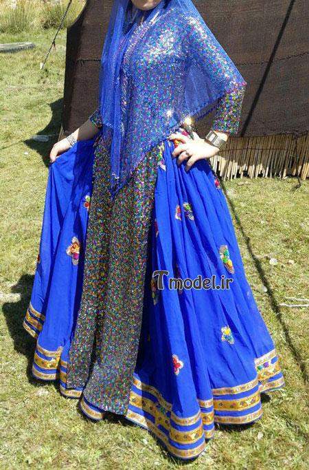 33112224545 8 - مدل لباس سنتی ایل قشقایی - مدل لباس محلی قشقایی