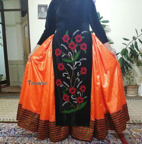 33112224545 9 - مدل لباس سنتی ایل قشقایی - مدل لباس محلی قشقایی