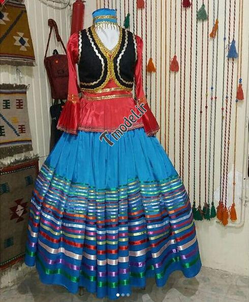 442225857811 2 - مدل لباس محلی زنانه شمالی قاسم آبادی