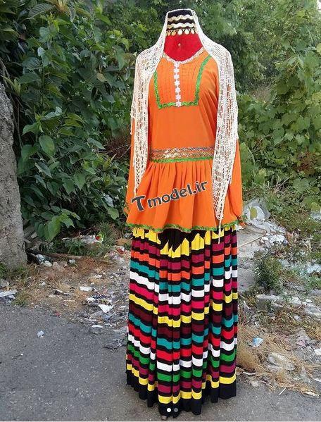 442225857811 6 - مدل لباس محلی زنانه شمالی قاسم آبادی