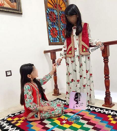 52144575455555 3 - جدیدترین مدل لباس زنانه و دخترانه لری و بختیاری