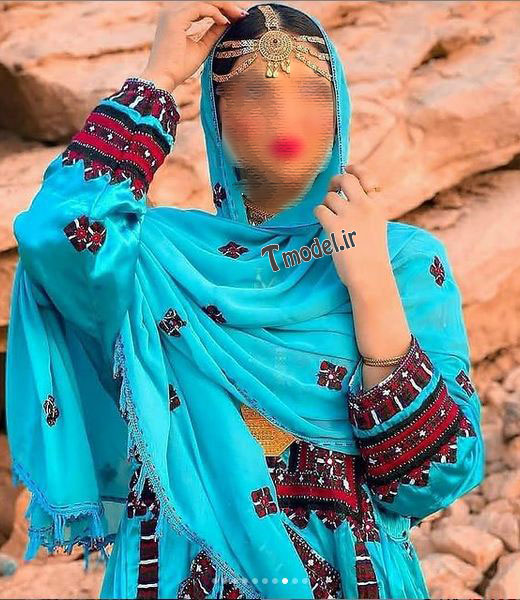 22223321144 13 - پوشش سنتی مردان و زنان سیستان و بلوچستانی