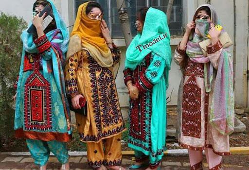 22223321144 2 - پوشش سنتی مردان و زنان سیستان و بلوچستانی