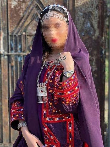 22223321144 5 - پوشش سنتی مردان و زنان سیستان و بلوچستانی